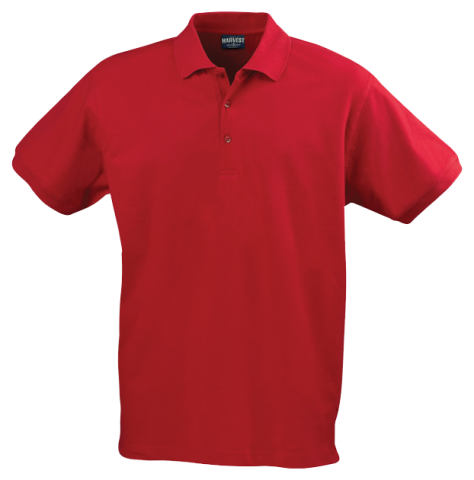 Mens Eagle Polo in Red
