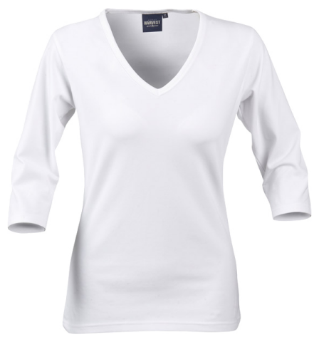 Ladies Lynn top in white