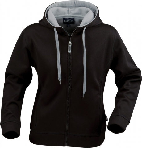 Ladies Moline Hoodie in 900 Black