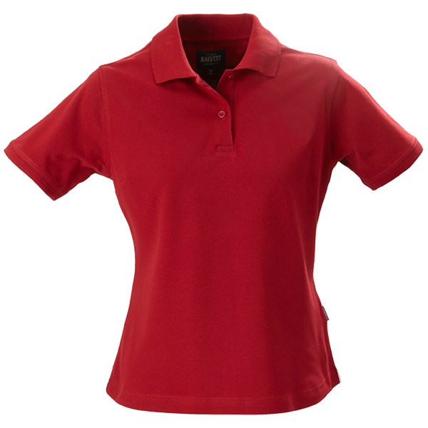 Ladies Albatross Polo in Red