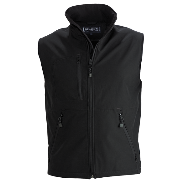 Beacon Montana Mens Vest in Black
