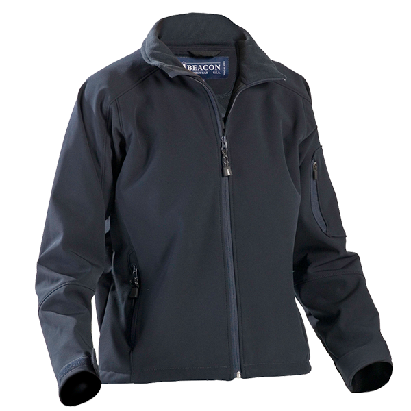 Ladies Softshell Libby Jacket in Navy
