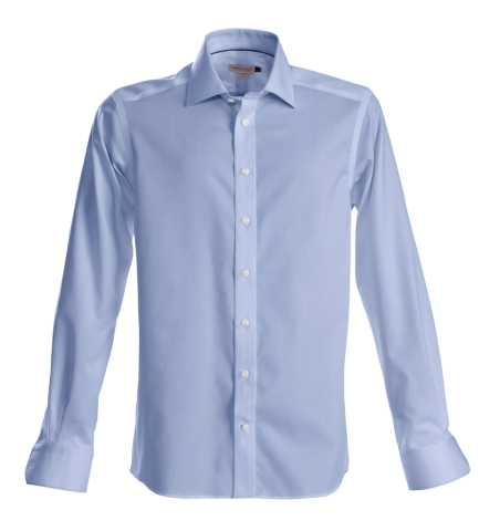 J.H & Frost Green Bow 01 Mens Shirt in Sky Blue