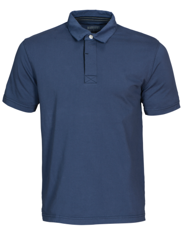Amherst Mens Polo in 555 Faded Blue