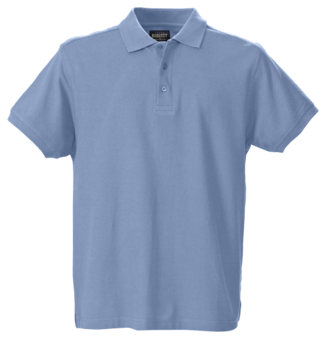 Morton Heights Polo in Pidgeon Blue