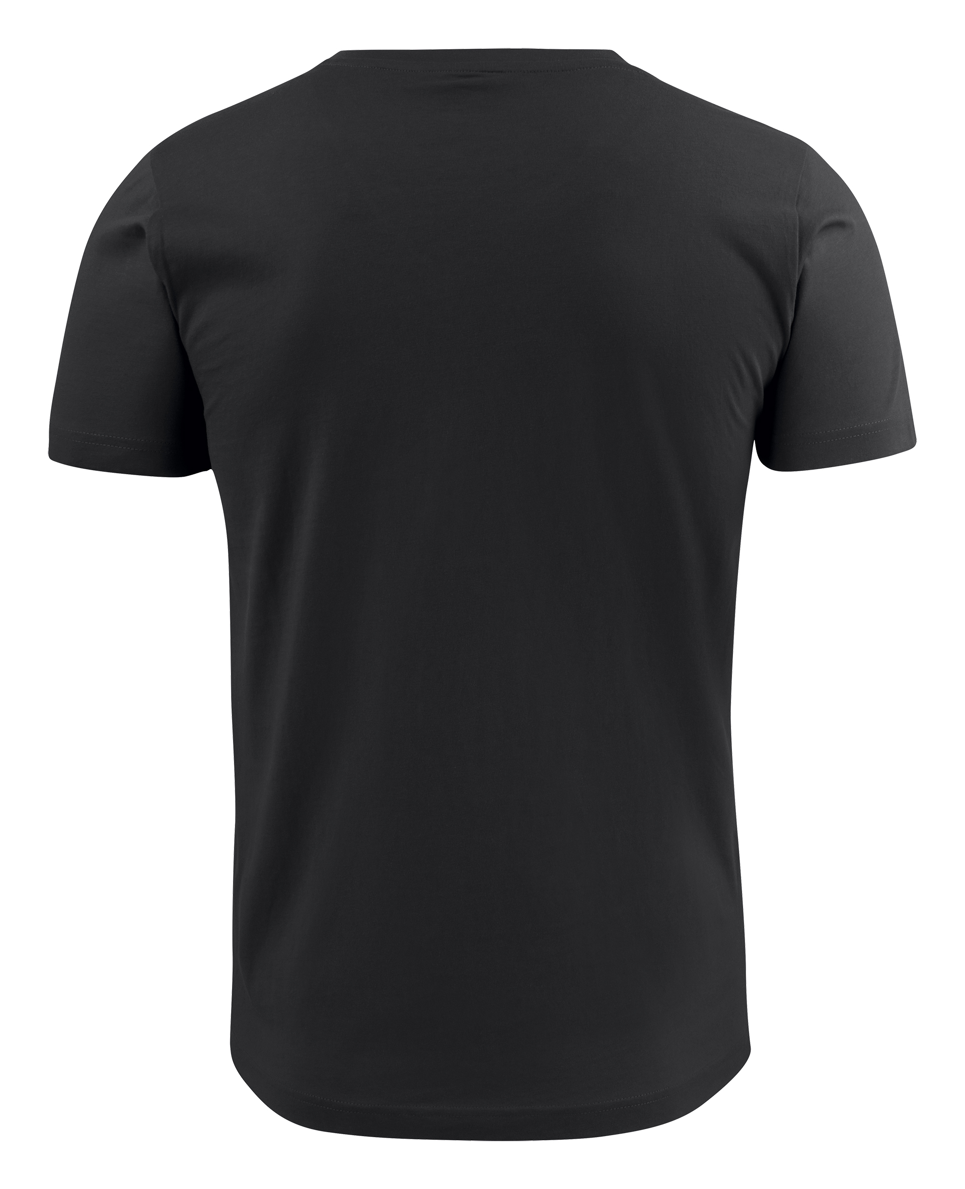 American V Mens in Black (Back View)
