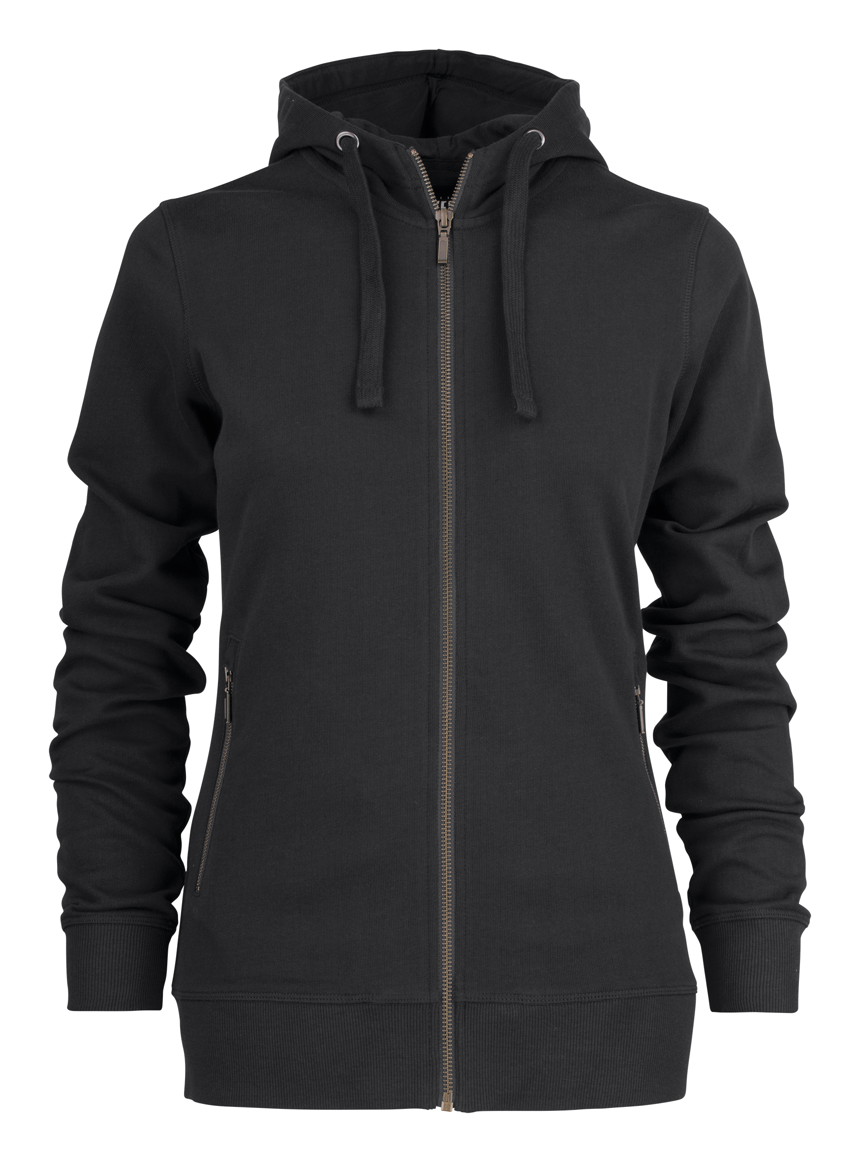 Ladies Duke Hoodie in Black