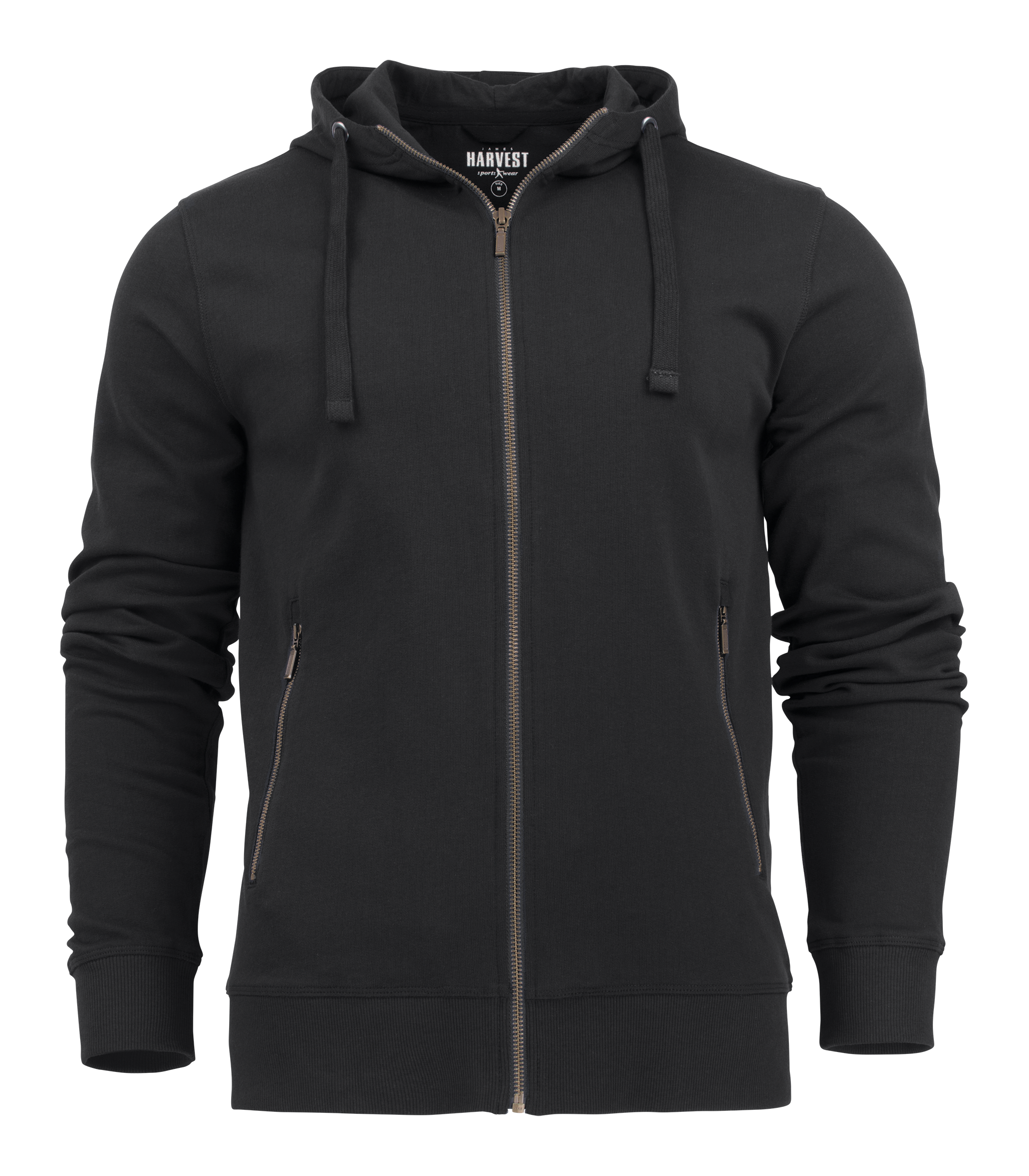 Mens Hooded Duke Jacket in 900 Black