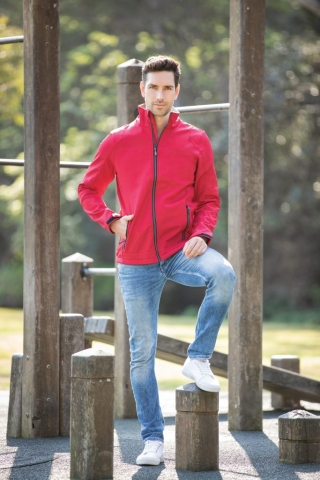 Trial Jacket in Red