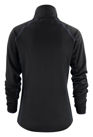 Ladies Miles Jacket in 900 Black (Back View)