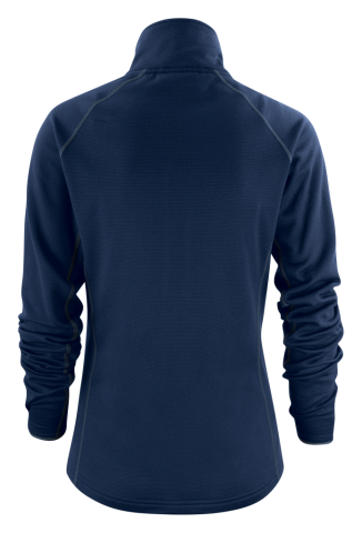 Ladies Miles Jacket in 600 Navy (Back View)