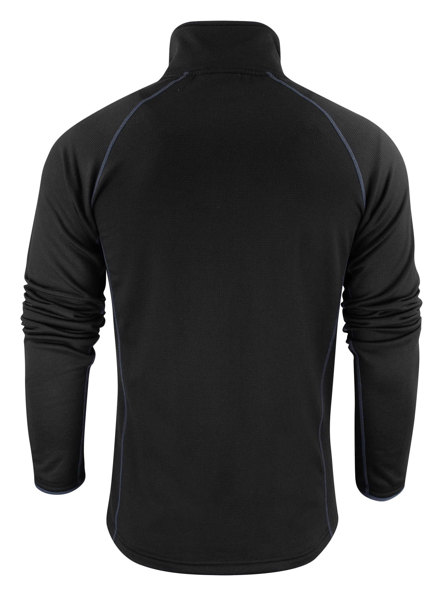 Mens Miles Jacket in 900 Black (Back View)