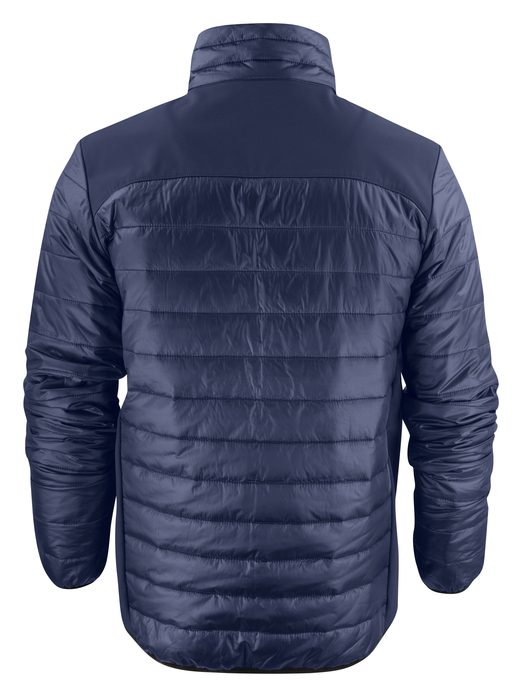 Back View: Unisex Expedition Jacket in Navy